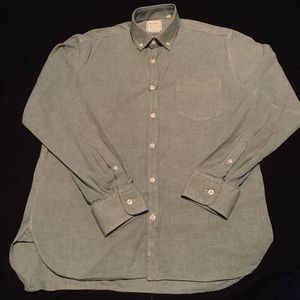 BILLY REID CHAMBRAY BUTTON DOWN SIZE MEDIUM!